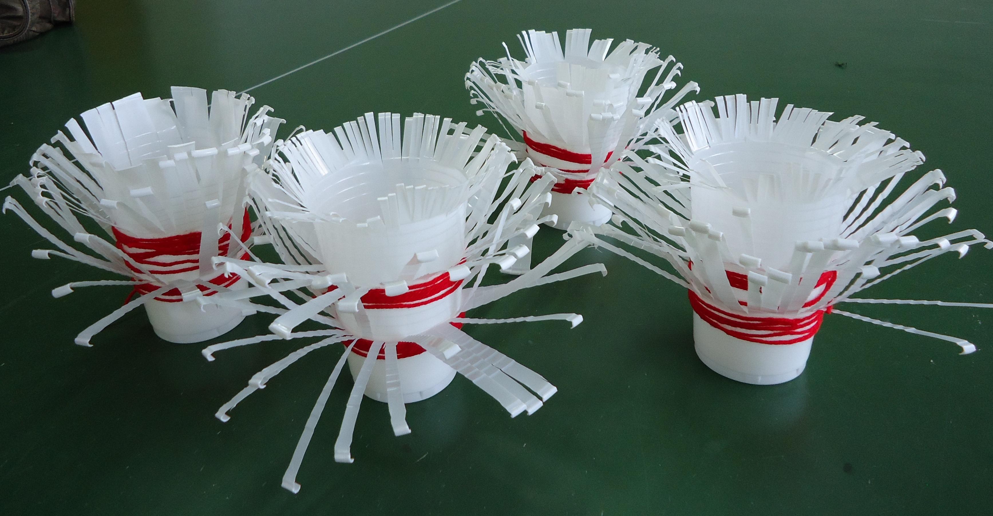 Поделки с одноразовыми стаканами